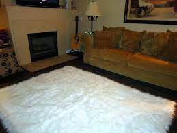 small faux fur rugs white fur rug target faux sheepskin images novelty small white fluffy rugs