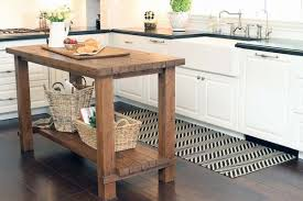 Amazing of Butchers Blocks For Kitchens Distressed Black Kitchen Island  With Butcher Block Top Modern