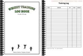 weight training log book a5 weights training gym log book fitness workout bodybuilding sport
