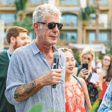 Anthony Bourdain Is Looking Forward to ...