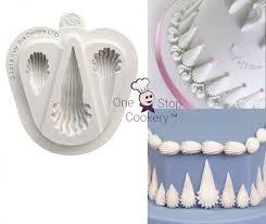 Shell Designs Katy Sue Designs Royal Icing Shells Border Selection Silicone