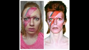 david bowie ziggy stardust makeup tutorial tribute to a legend idle