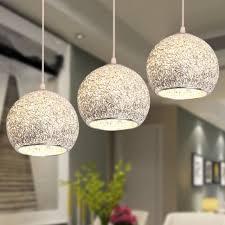 E Modern Ceiling Lights Bar Lamp Silver Chandelier Lighting Kitchen Pendant  Light