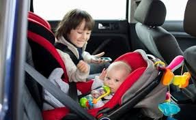 if you need to install more than one car seat and have an older child in a forward facing or booster seat try to put the older child in the middle instead
