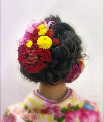 この画像は長さ別振袖に合う成人式の髪型アレンジカタログの