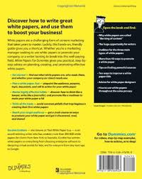 white papers for dummies gordon graham com  white papers for dummies gordon graham 9781118496923 com books