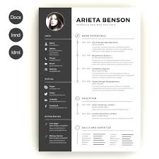 Browse Creative Resume Templates Word Download Free Best Template 1