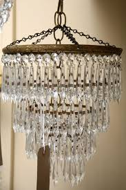 1930s waterfall chandelier antique waterfall chandeliers