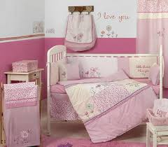 new baby girl pink little ie crib bedding sets 4 pic images