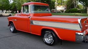 1955 Chevrolet Cameo Carrier Pickup - Ross's Valley Auto Sales ...