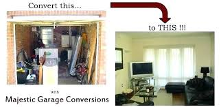 Cost Of Converting Garage To Bedroom Converting Garage Into Bedroom How To  Turn A Garage Into