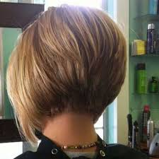 Short Hairstyles Rear View
