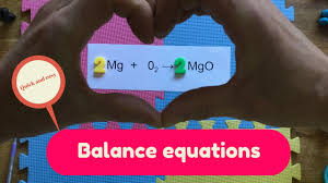 how to balance equations balancing chemical equations balancing equations in gcse chemistry