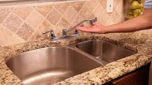 Danco How To Repairing A Leaky Two Handle Faucet Youtube