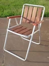 folding lawn chairs. Image Is Loading VINTAGE-RETRO-ALUMINUM-FOLDING-LAWN-CHAIR-PLASTIC-ARMS- Folding Lawn Chairs T