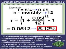 Loan Interest Calculator Gorgeous Calculating Effective Interest Rate