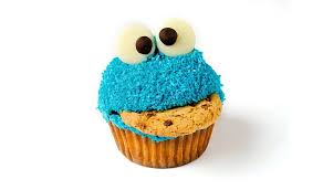 cool cupcakes. Beautiful Cupcakes 9  Cookie Monster Throughout Cool Cupcakes