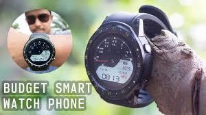 $59 <b>TenFifteen F1</b> BUDGET <b>SMART</b> WATCH PHONE Unboxing And ...