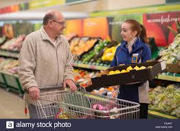 a s assistant in an aldi uk supermarket store on newport road a s assistant in an aldi uk supermarket store on newport road cardiff