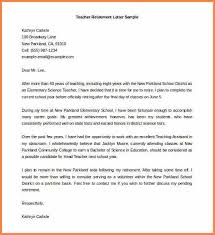 resignation retirement letter samples editable teacher retirement letter template sample word