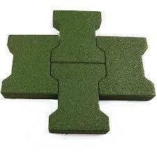 dog bone outdoor patio tiles green tiles