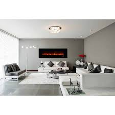 clx 2 80 modern flames electric fireplace
