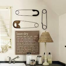 Safety Pin Plaques - Set of 3. Laundry Room SignsLaundry DecorLaundry ...
