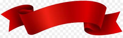 Red Ribbon Design Banner Ribbon