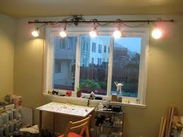 track lighting with cord. what do you get when cross a dimmer switch curtain rod an extension cord and 5 clamp lights cheap practical adjustable track lighting with instructables