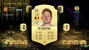FIFA 21 KEVIN DE BRUYNE PLAYER REVIEW