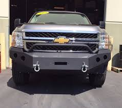 Offroad Front Bumper Steel Winch Ready 2011-2014 Chevy Silverado ...