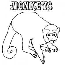 Small Picture Dozens of free monkey coloring pages from around the internet