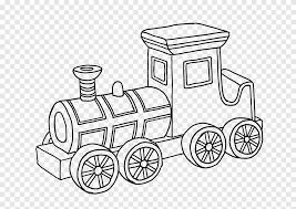 Color in this picture of a steam locomotive and others with our library of online coloring pages. Train Drawing Car Toy Coloring Book Train Angle Child Png Pngegg