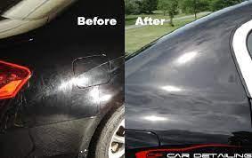 paint polishing swirl removal fine