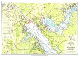 Cumberland River Charts Tennessee River On A Map Clublive Me