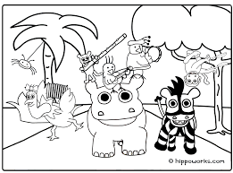 Small Picture Printable Coloring Pages Jungle Coloring Pages