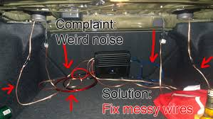 what not to do ultra auto sound car audio fail wiring amp install from kijiji