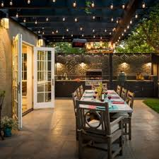 covered patio ideas. Example Of A Classic Backyard Patio Kitchen Design In San Francisco With  Pergola Covered Ideas O