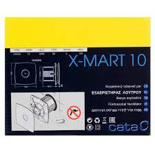 <b>Вентилятор CATA X-MART 10</b> T D100 мм 15 Вт таймер в ...