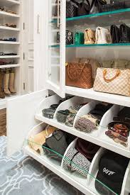 closet with pull out accessory drawers