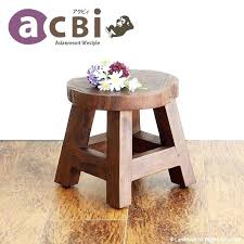 childrens stools teak solid wood mini stool chair small barn kids s tool compact intact piece childrens stools bath safety stool kitchen ikea wooden