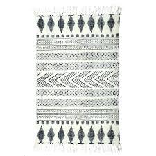 grey and black geometric rug white runner gray black and white geometric rug