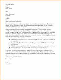 Cover Letter Free Sample Cover Letter For Administrative Assistant