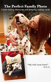 <b>Christmas Dog</b> Print Flannel Pajamas for Dog & Owner in Matching ...