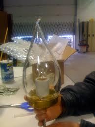 antique lamp shade blown glass