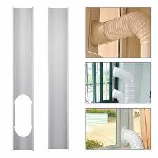 2pcs Justierbares Fenster Dia Satz Platten Klimaanlagen Wind Schild