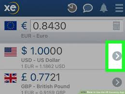 Xe Currency Converter Chart How To Use The Xe Currency App 13 Steps With Pictures