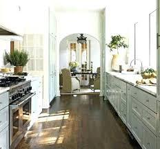 Galley Style Kitchen Design Ideas Practical 10: