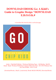 Go A Kidd S Guide To Graphic Design Download Ebook Go A Kidds Guide To Graphic Design Download