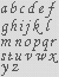 Cross Stitch Alphabet Patterns Awesome Cross Stitch Patterns A To Z Alphabet Sampler Small Letter Cursive